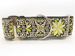 Pinwheel Dutch Spring Extra Wide Martingale Dog Collar