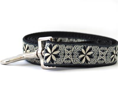 Pinwheel Norway Winter Extra Wide Martingale Dog Collar