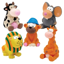Zanies® Latex Dog Toy Prepack - 5 pieces