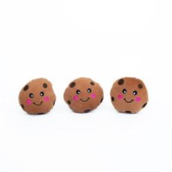 Zippy Paws - Zippy Miniz 3 Pack - Cookies