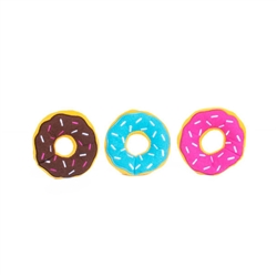 Zippy Paws - Zippy Miniz 3 Pack - Donutz