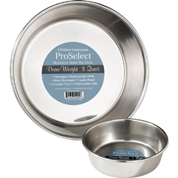 ProSelect® Dura-Weight Stainless Steel Bowls