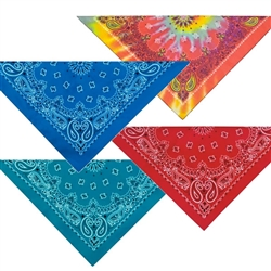 Top Performance® Paisley Bandanas