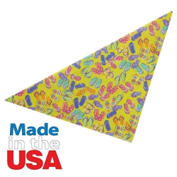 Top Performance® Flip Flop Fun Dog Bandana