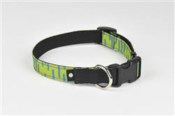 Lime Dog Collar