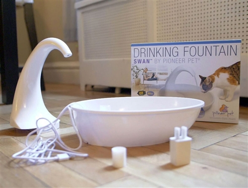 The Swan Fountain - Premium Plastic - 80oz