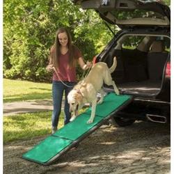 Tri-Fold Pet Ramp with supertraX