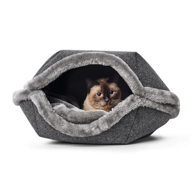 Lugano 2-in-1 Cat Cave/Dog Sofa by HUNTER
