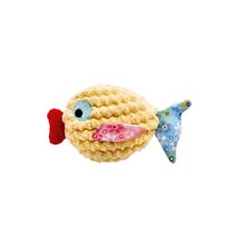 """4.75"""" Mamou Fish Cat toy by HUNTER"""