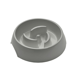 Atlanta Grey Slow Feeding Bowl by HUNTER