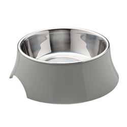 Atlanta Grey Melamine Feeding Bowl by HUNTER