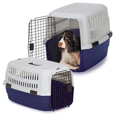 Guardian Gear® Contain-Me Crate - Blue/White