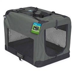 Guardian Gear® Soft Crate - Charcoal Grey