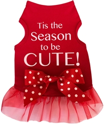 Tis the Season to be Cute  - Tank - Red