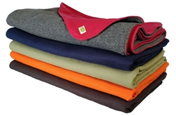 Hemp & Recycled Fleece Blanket