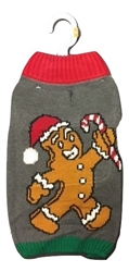 LED Light Up Gingerbread Sweater