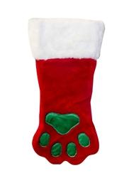 Christmas Paw Dog Stocking Holiday