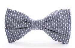 Swiss Dots Dog Bow Tie