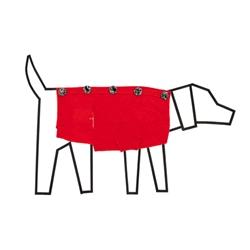 Red Pom Pom Cardigan