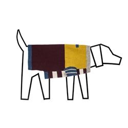 Blue/Burgandy Multi Crazy Stripe Sweater
