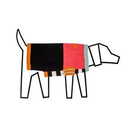 Orange/Black Multi Crazy Stripe Sweater
