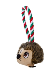 Holiday Hedgie Tuggiez Tug-O-War Rope Dog Toy
