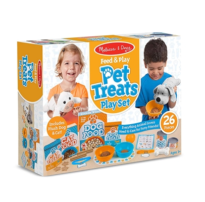 Feed & Play Pet Treats Play Set