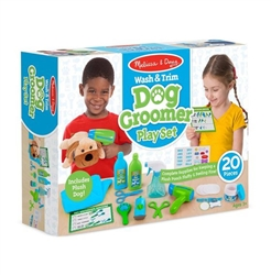 Wash & Groom Dog Grooming Play Set