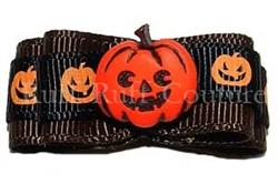 Jack-O's Pumpkin Barrette by Ruff Ruff Couture®