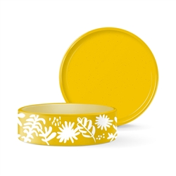 DESERT FLOWER MEDIUM WAX RESIST BOWL