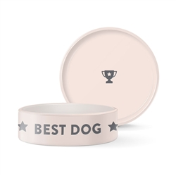 BEST DOG STAR MEDIUM WAX RESIST BOWL