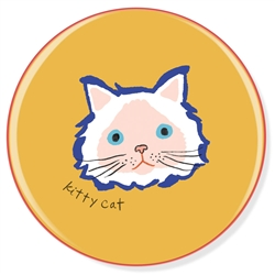 BFF KITTY CAT CERAMIC COASTER