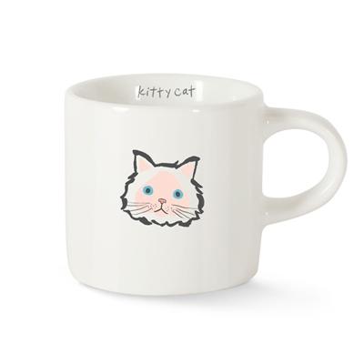 BFF KITTY CAT MINI CERAMIC MUG
