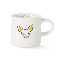 BFF CHIHUAHUA MINI CERAMIC MUG