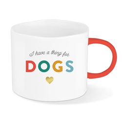 THING FOR DOGS ORGANIC CUTE MUG