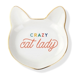 CRAZY CAT LADY MULTI SCULPTED TRAY