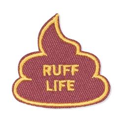 RUFF LIFE SMALL PATCH