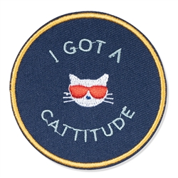 CATTITUDE MEDIUM PATCH
