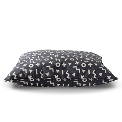XO SHAPE LARGE PILLOW