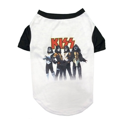 KISS Love Gun Baseball T-shirt by fabdog