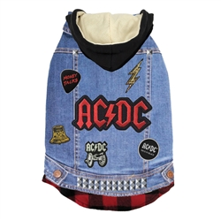 AC/DC Denim Jacket by fabdog