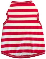 Peppermint Stripe  - Tank - Red/White
