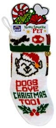 "10"" KNITTED SMALL DOG STOCKING  / ASSORTED STYLES"