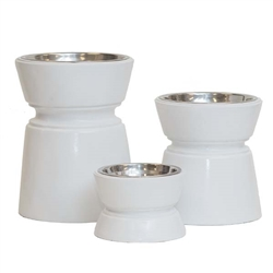 Ansel Raised Dog Bowls
