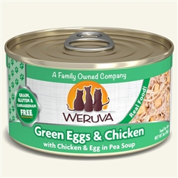 Weruva Cat Green Egg & Chicken  Case of 24