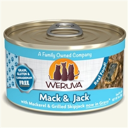 Weruva Cat Mack Jack Canned Cat Foods