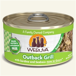 Weruva Cat Outback Grill  Canned Cat Food