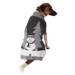Tundra's Snowman Sweater in Gray