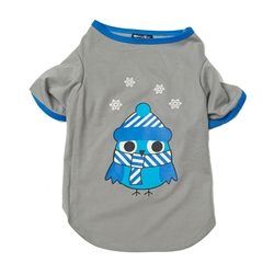 Winter Owl Nightshirt in Gray