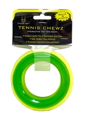 """Hyper Pet™ Tennis Chewz 4"""" Ring Toy 3 pack $14.55 ($4.85 EA) MUSHROOM AND BARBELL ALSO AVAILABLE!"""